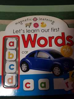 Magnetic Learn First Words