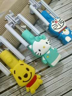 Tongsis Hello Kitty, Doraemon, Pooh