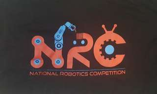 NRC NATIONAL ROBOTICS COMPETITION STAFF Tshirt