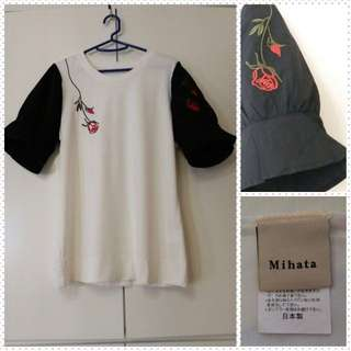 Japanese blouse with soft fabric