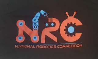 NRC NATIONAL ROBOTICS COMPETITION OFFICIAL Tshirt