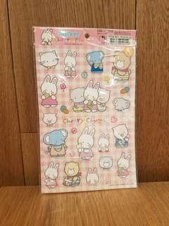 Sanrio Cherry Chums 貼紙 2007年