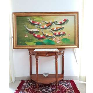 Vintage Classic Fish Painting