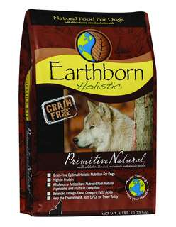 6kg Earthborn Holistic Primitive Natural dog food