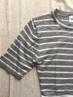 korean brand ribbed dress