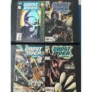 Ghost Rider 2099 #1, #2, #3 & #4
