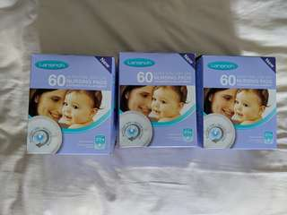 Brand new Lansinoh Didposable nursing pads 60 x 3 boxes
