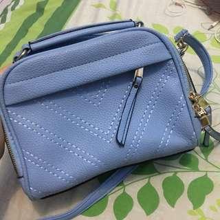 Sling bag baby blue