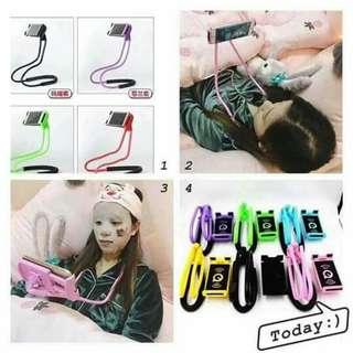 Lazy neck monopad /phone holder