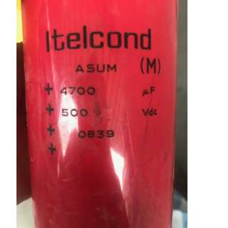 Itelcond (M) ASUMCapacitor New