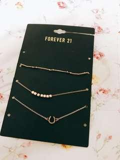 🚚 Forever21手鍊