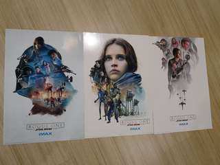 IMAX Poster - Rogue One A Star Wars Story Set