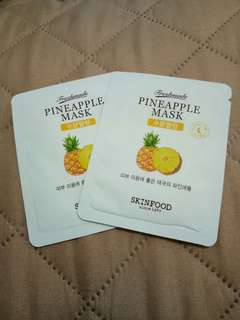 Pineapple Mask Sample Sachet
