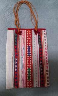 民族編織布袋