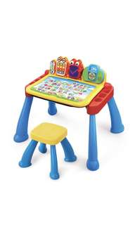 ~Ready Stocked~ VTech Touch and Learn Activity Desk Deluxe table easel chalkboard (Frustration Free Packaging)