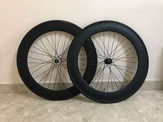 70mm fixie wheelset