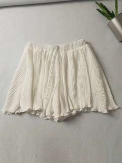 🚚 OshareGirl 05 歐美西班牙單經典女士純色百褶褲裙