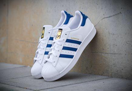 adidas superstar foundation blue