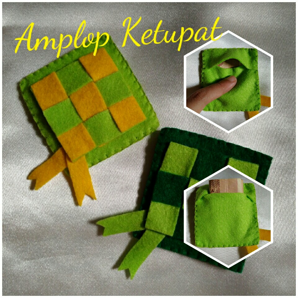 Amplop Lebaran Ketupat Design Craft Artwork On Carousell
