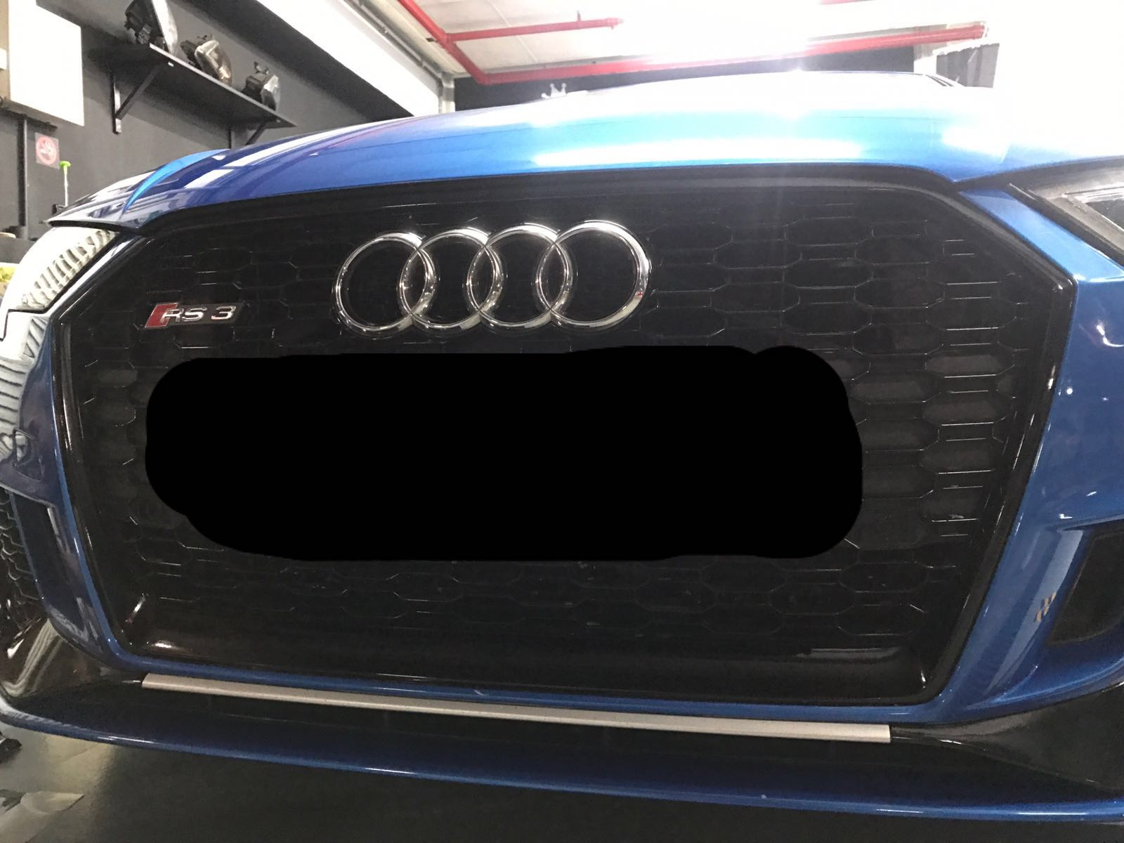 Audi Rs3 Grill Glossy Black Wrap