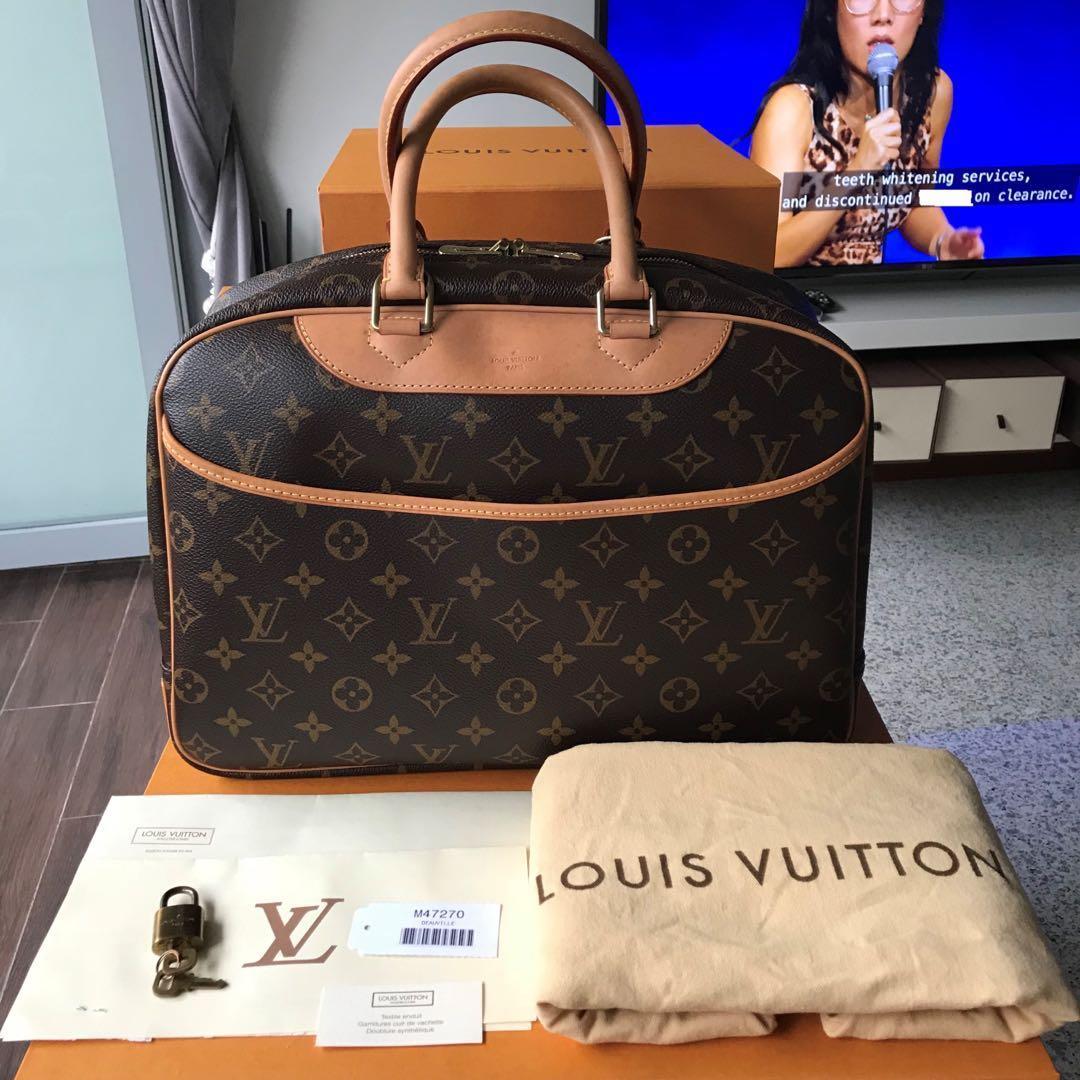 0b6d1330e965 Authentic Louis Vuitton Deauville in Monogram