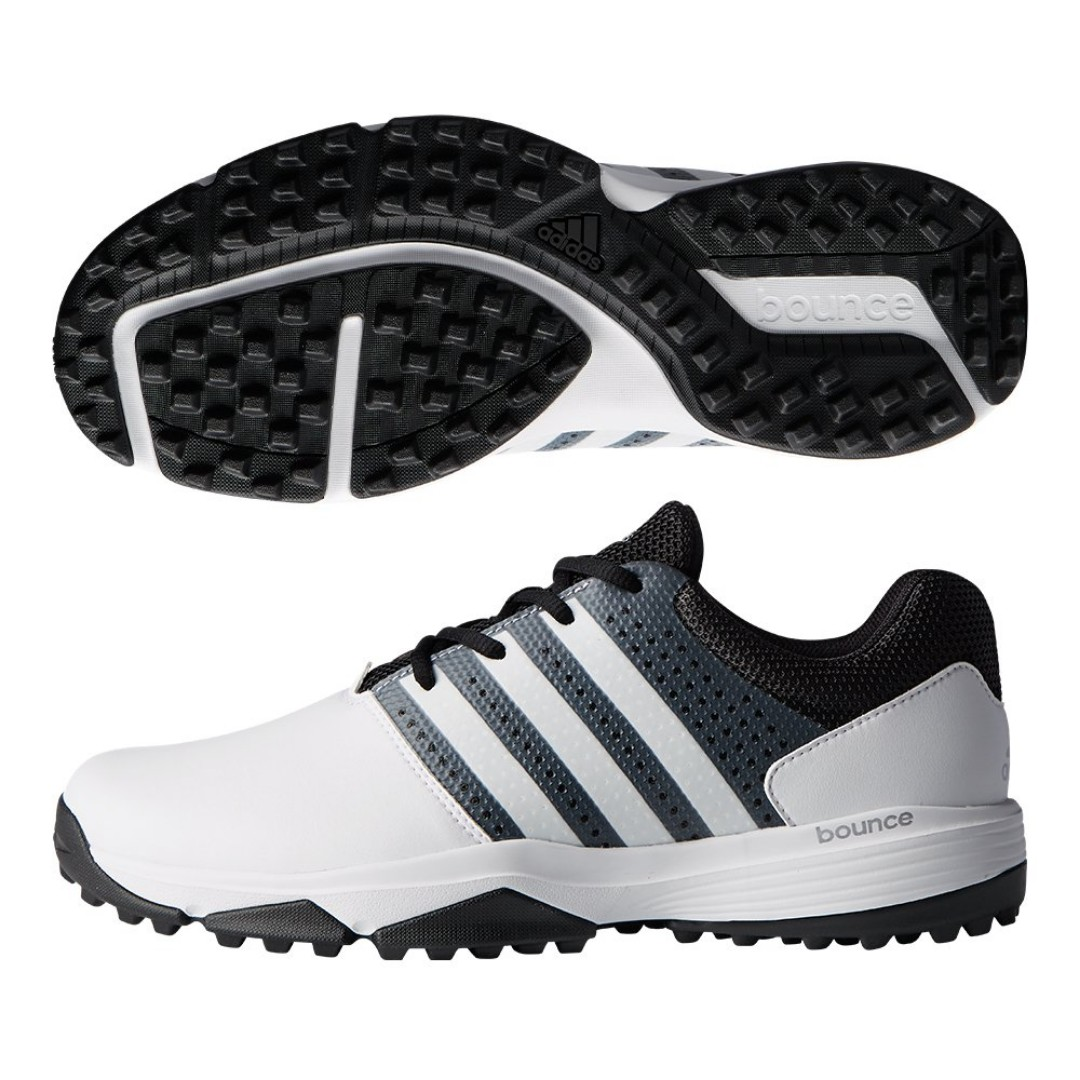 e2861389065 Authentic NEW ADIDAS 360 TRAXION GOLF SHOES LIGHTWEIGHT MICROFIBER ...