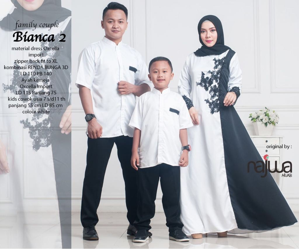 Bianca Couple Family Fesyen Wanita Muslim Fashion Di Carousell