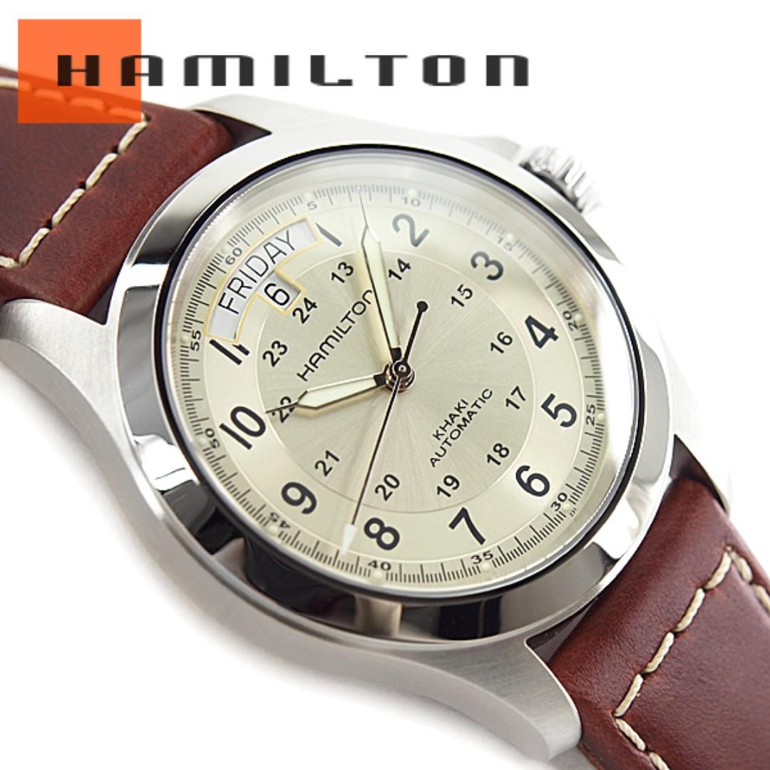 81f3186409d BNIB  Hamilton Khaki King Automatic H64455523 Mens Watch