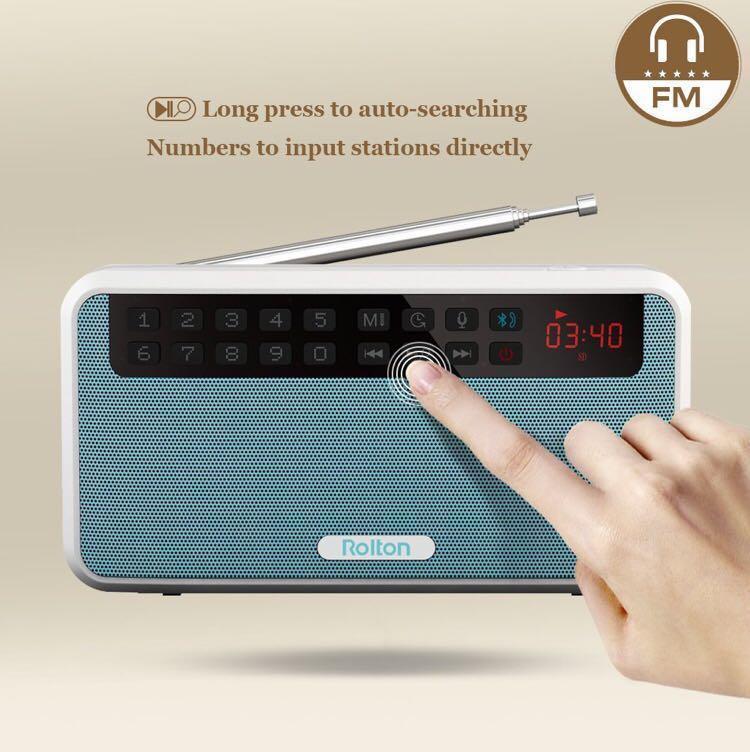 [BNIB] Rolton Portable Radio (New Model: E500, with English & Chinese  Manual)+FREE SHIPPING!