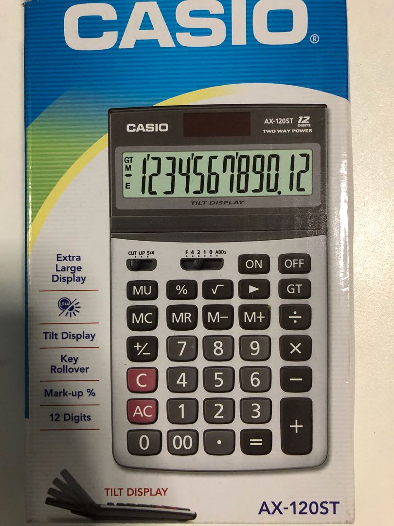 Casio Calculator on Carousell