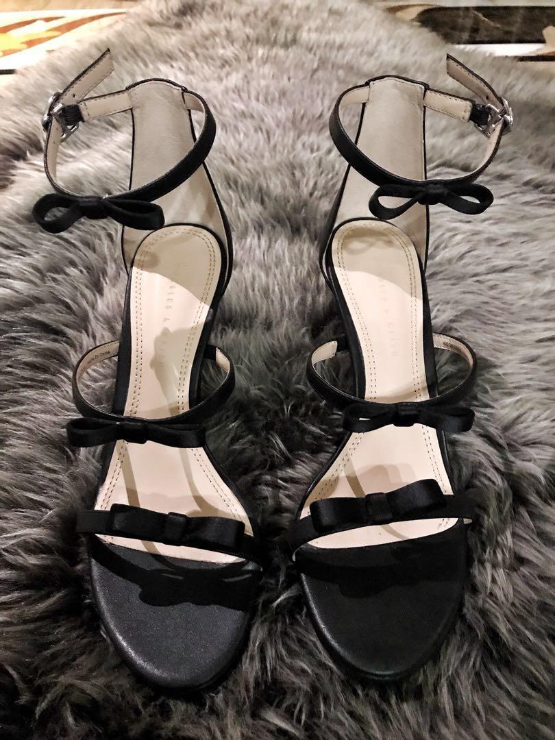 Charles   keith bow heels 848614c7cc