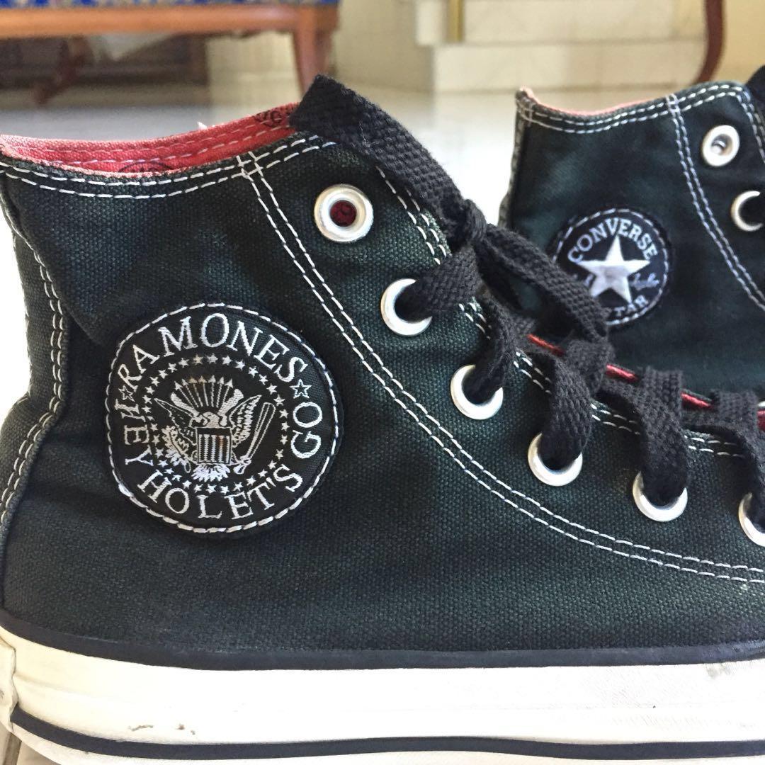 2bb1281d78b4 Converse x Ramones High Cut