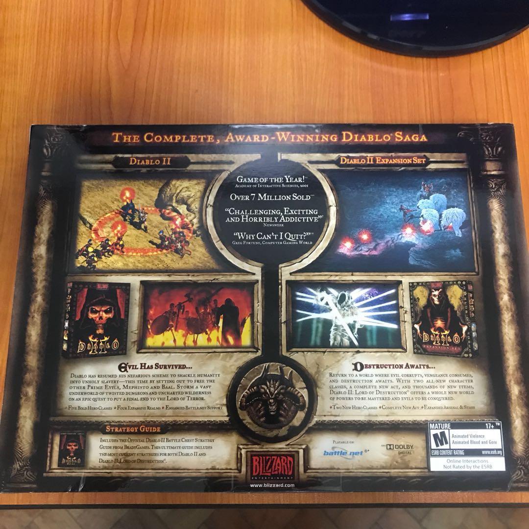 Diablo 2 Battle Chest + Expansion Set (Brand New Sealed