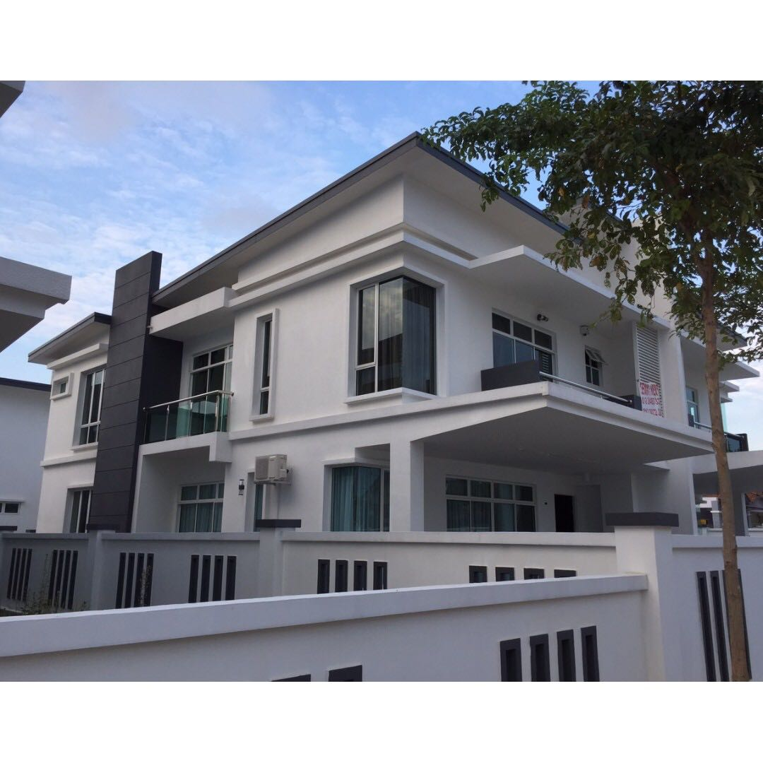 Double Storey Semi Detached For Rent In Senibong Villas Type A