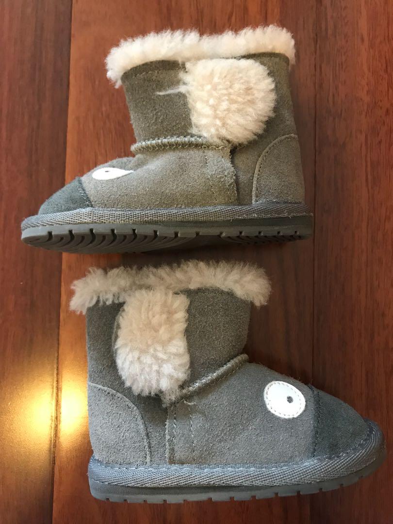Emu Australia Toddler Koala Boots - Size 6-12 mos