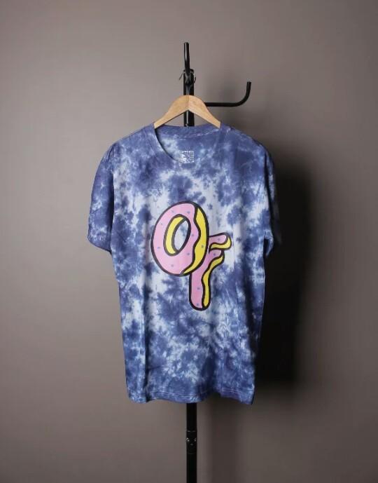 d297370a0226 Golfwang Odd Future Donut Tiedye Blue