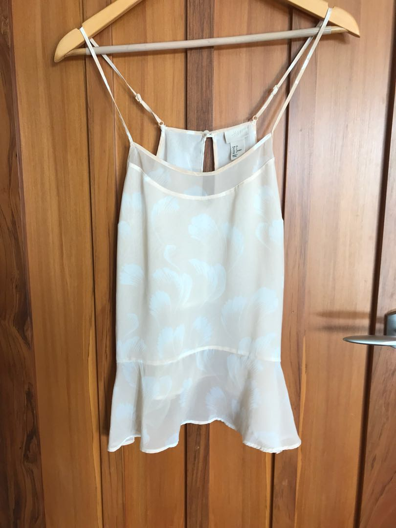 H&M dusty pink cami