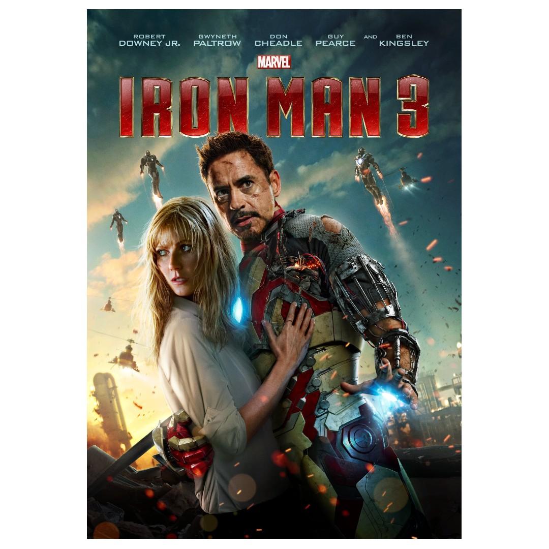 Iron man 3 movie posters full size alternate, Design & Craft