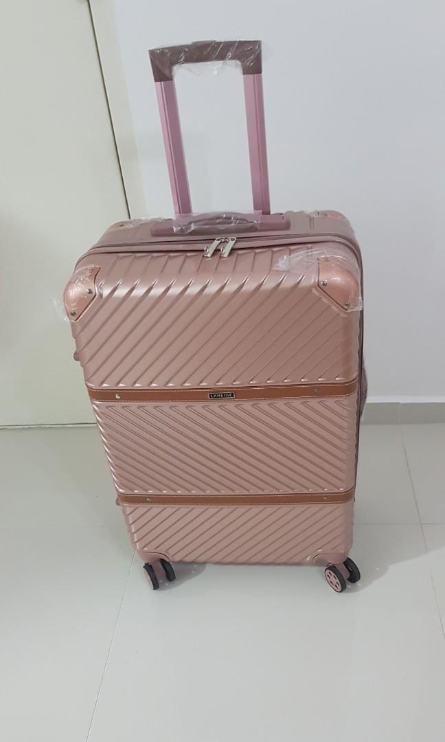 645ab1032ce4 Laneige 24 inch Rose Gold Luggage