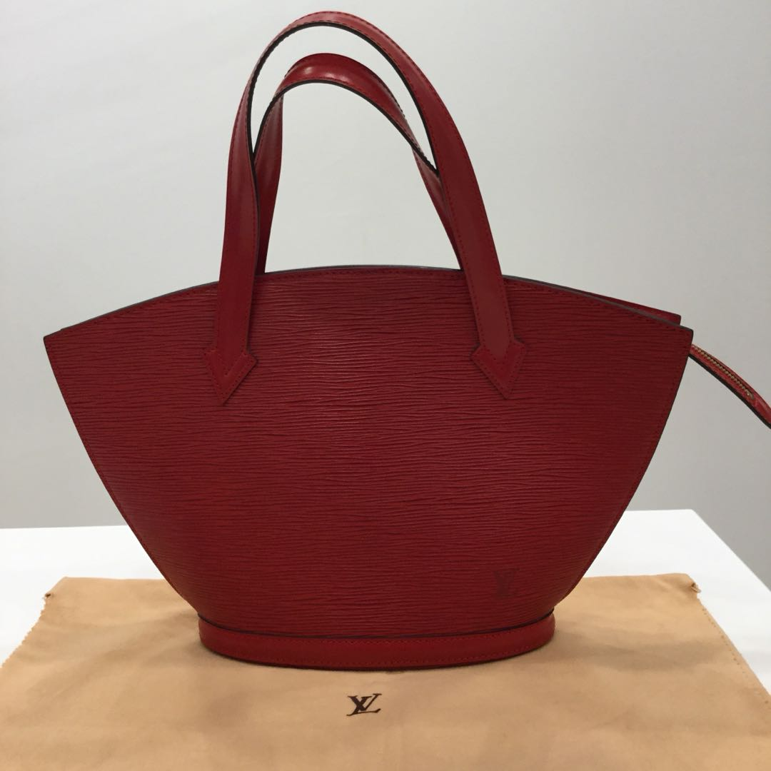 c1ce57c1cf0e Louis Vuitton Saint Jacques Red Epi Leather