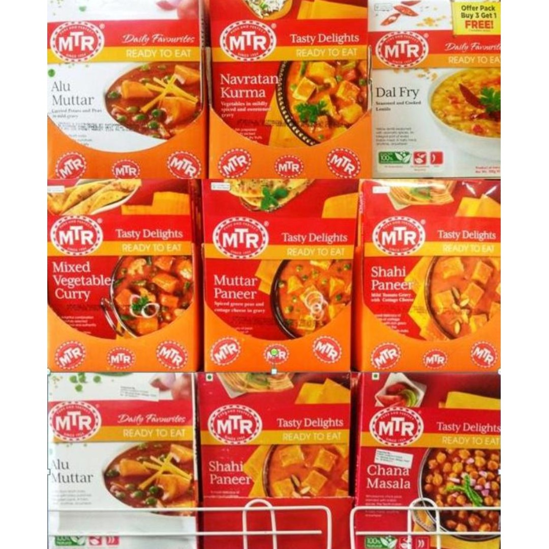 MTR PRODUCTS /READY TO EAT /