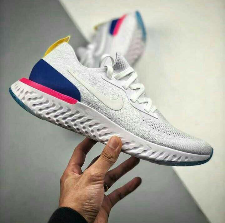 NIKE EPIC REACT FLYKNIT Mens Fashion Mens Footwear Sneakers On