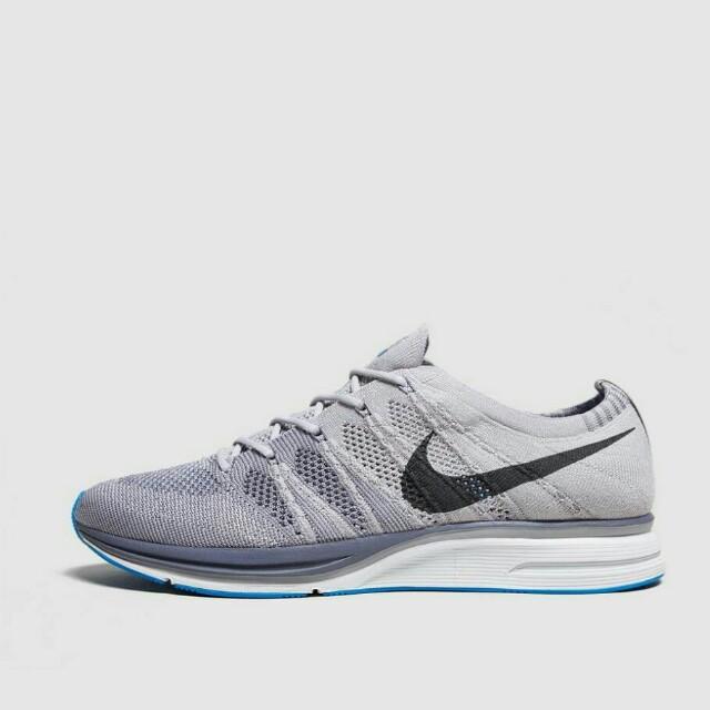 Nike Flyknit Trainer Wolf Grey/Royal