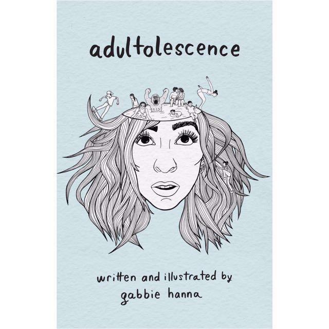 [PO] Adultolescence - Gabbie Hanna ( The Gabbie Show ) ( paperback )
