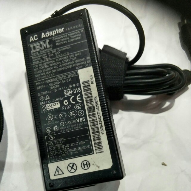 power adapter 16v 4.5a