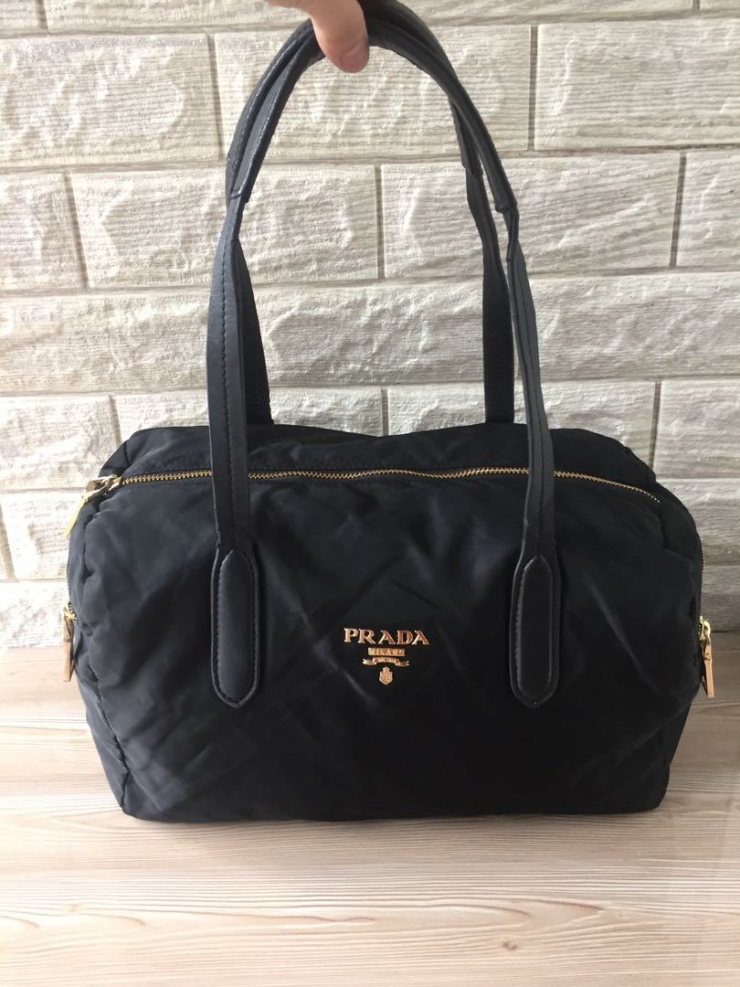 884cd0d7e84f ... aliexpress prada black nylon shoulder bag luxury bags wallets on  carousell 337ac a491b ...