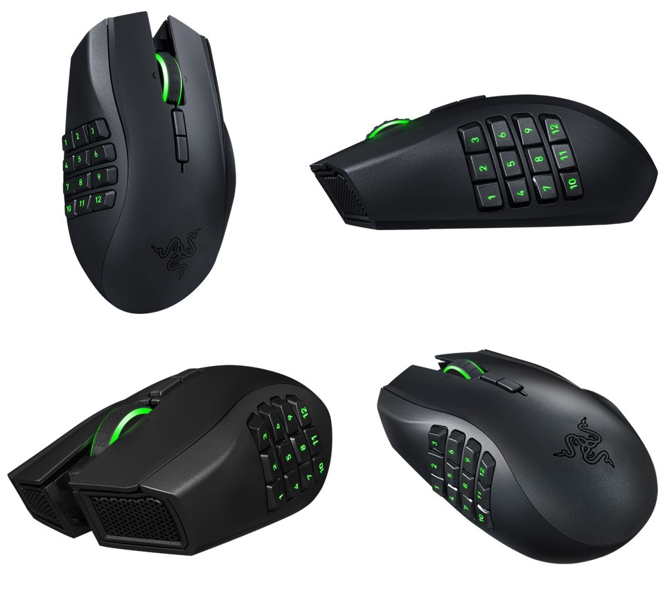 90058b0f4dd Razer Naga Epic Chroma LED wireless gaming mouse, Electronics, Computer  Parts & Accessories on Carousell