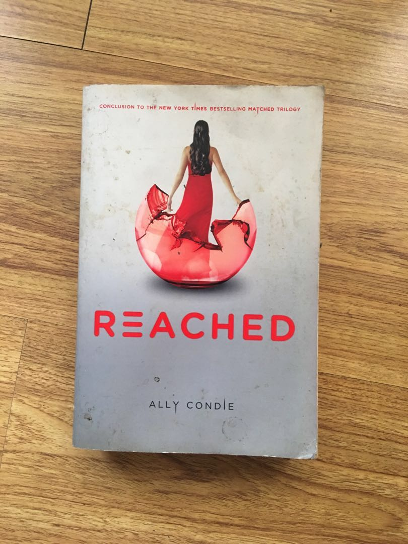 Reached ally condie books books on carousell photo photo photo photo fandeluxe Choice Image