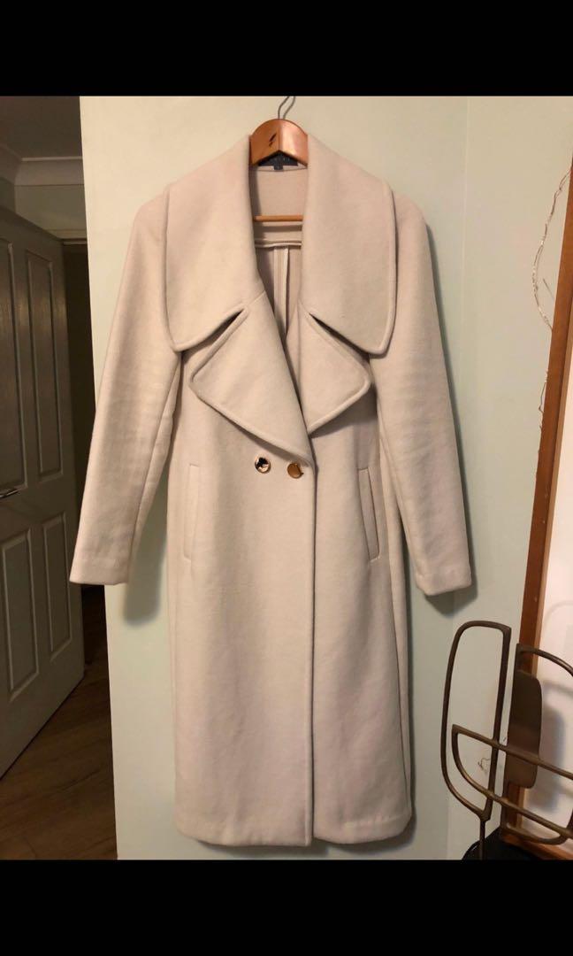 Sheike Cream Coat - Size 8