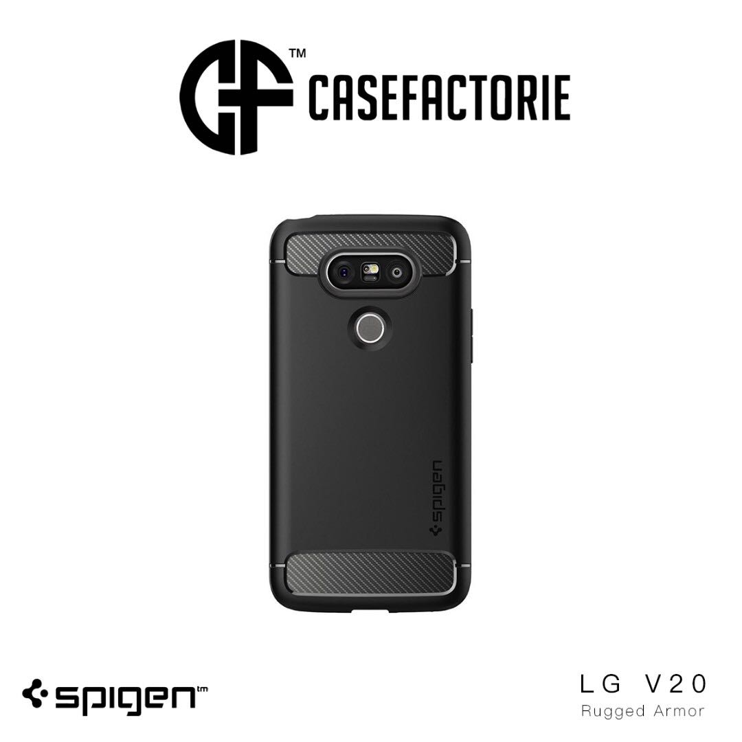 brand new 21cbb afcba SPIGEN RUGGED ARMOR LG V20 CASE CASING COVER